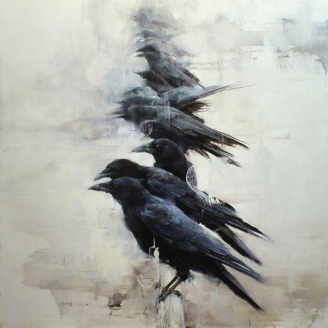 Raven, Crow, et Corbacs  485aa9368c642c17ce5e7b3dfd407ddb--crows-ravens-what-is