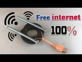New Free Internet 100 Get Free Internet At Home 2019 Youtube Internet Phone Free Energy Generator Free Energy