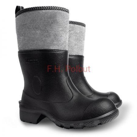 Gumofilce Piankowe Meskie Lekkie Ocieplane Demar Agro Filcok Boots Rain Boots Wellington Boot