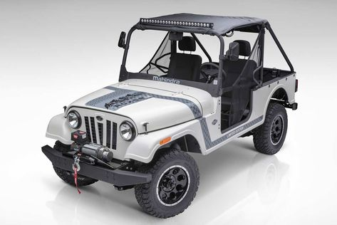Mahindra Automotive North America Mana Has Unveiled The Mahindra