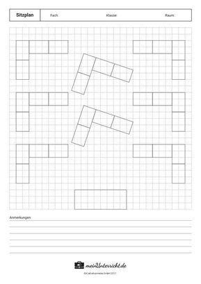 Sitzordnungen Im Vergleich Vorlagen Meinunterricht De Klassenraum Ideen Fur Das Klassenzimmer Neues Schuljahr