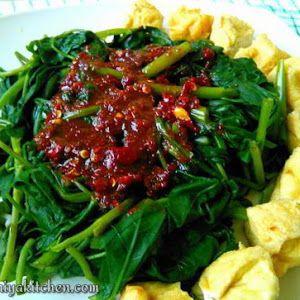 Resep Petis Kangkung Khas Semarang Resep Makanan Resep Makanan Pedas