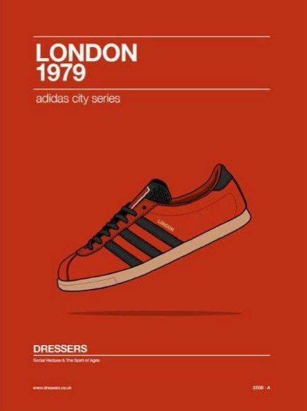 Adidas London Adiart Gaya Kasual Sepatu Adidas Kasual