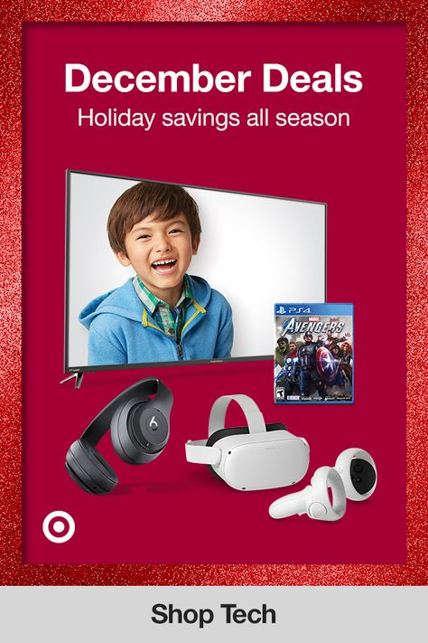 Check out top tech deals, electronic gifts  ideas to pick the perfect holiday gift for Mom, Dad or a friend  make their Christmas even more special.