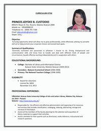 Resume Sample First Job Sample Resumes Knowledge Job