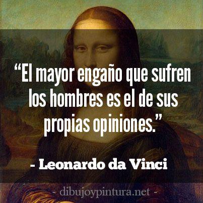 Frases De Leonardo Da Vinci Para Facebook Frases De Pintores Frases Sabias Frases De Palabras