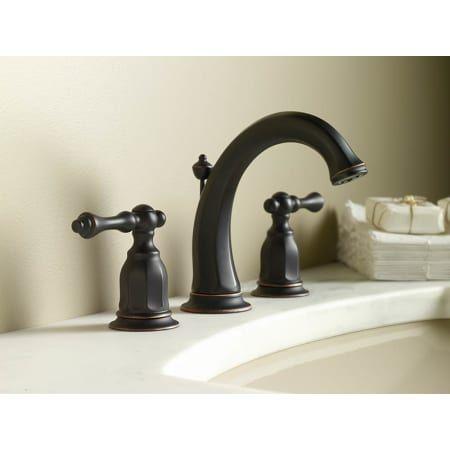 Kohler K 13491 4 Rubbed Bronze Kitchen Faucet Oil Rubbed Bronze