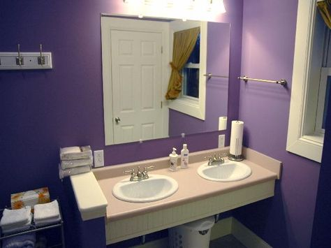 Purple Bathrooms By Franco Pecchioli Ceramica | Purple Bathrooms, Bathroom  Designs And Dream Bathrooms