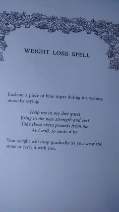 Simple Tips To Help You Be Successful With Weight Loss. Witchcraft ...