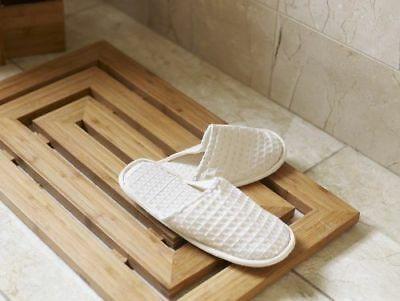 Luxury Bamboo Wood Wooden Pattern Duck Board Shower Bath Mat Slatted Non Slip Ebay In 2020 Shower Bath Mats Bamboo Bathroom Wooden Bathroom