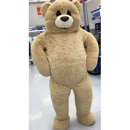 Baby Net For Stuffed Animals, Way To Celebrate Valentine S Day Xxl Sitting 6 Foot Cream Bear Walmart Com Large Teddy Bear Giant Teddy Bear Giant Teddy