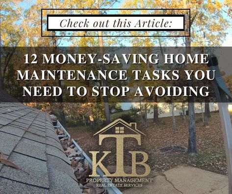 12 Money-Saving Home Maintenance Tasks You Need To Stop Avoiding