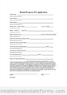 Printable Sample Free Rental Agreement Template Form | Real Estate ...