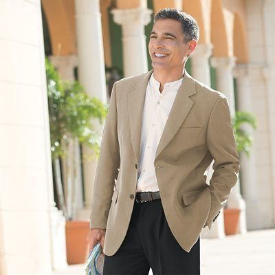 World-Class Microfiber Sport Coat - TravelSmith   Products ...