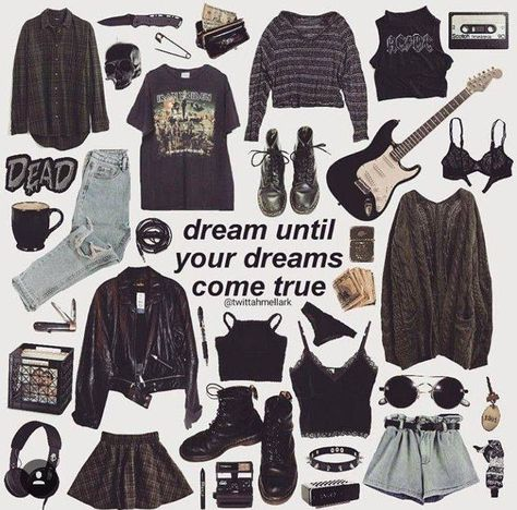 grudge outfits, indie grunge fashion, grunge accessories, in Punk Outfits, Grunge Outfits, Retro Outfits, Vintage Outfits, Grunge Clothes, Mode Grunge Hipster, Indie Grunge Fashion, Grunge Fashion Winter, Summer Grunge