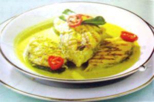 Ikan Kuah Kuning Seared Tuna Recipe Recipes Food