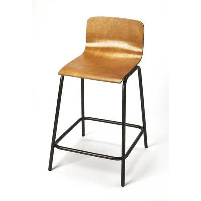 Birdrock Home Rush Weave 24 Counter Height Bar Stool Wayfair Metal Counter Stools Bar Stools