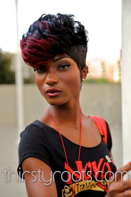 Black Model Hairstyle