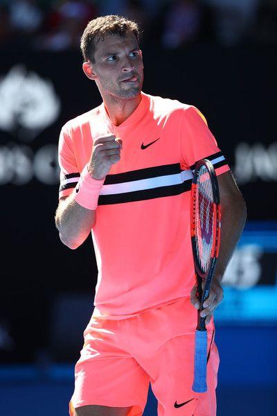 Grigor Dimitrov Photos Photos 2018 Australian Open Day 1 Tennis Clothes Tennis Photography Tennis