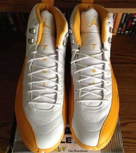 20b36ef254c4 Air Jordan XII - Ray Allen Seattle Sonics Home PE - SneakerNews.com ...