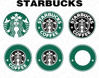 photograph relating to Printable Starbucks Logos titled Starbucks svg Etsy Cricut Craft Jobs Cricut