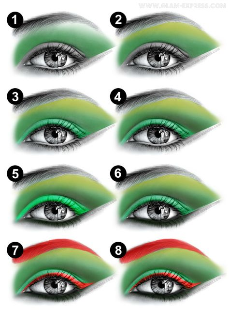 Poison Ivy Make-up. I could be Poison Ivy for Halloween! But you'll have to help with make-up Poison Ivy Cosplay, Poison Ivy Costumes, Diy Posion Ivy Costume, Poison Ivy Dress, Costume Halloween, Halloween Kostüm, Alien Halloween Makeup, Poison Ivy Makeup, Poison Ivy Nails
