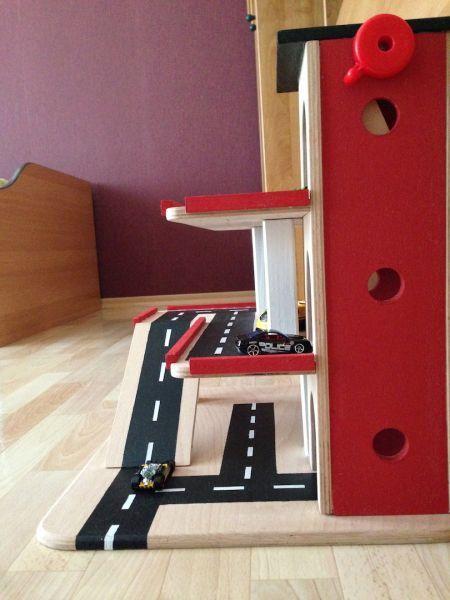 Spielzeug Garage Selber Bauen