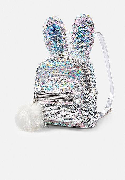 1a95089a4692 Bunny Flip Sequin Mini Backpack
