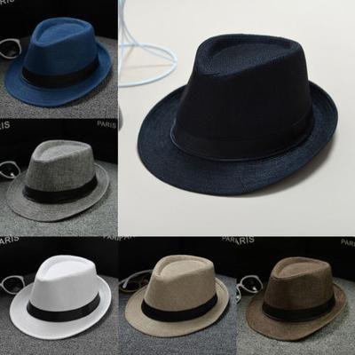 Simplicity Unisex Classic Manhattan Vintage Style Trilby Fedora Hat