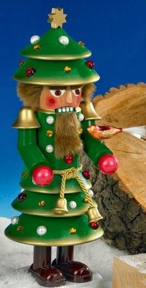 Steinbach Signed Christmas Tree German Nutcracker