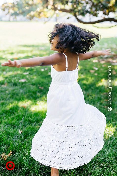 White dresses are a summer fave. Find girls' outfit ideas  kids' clothing for comfy, all-day wear.