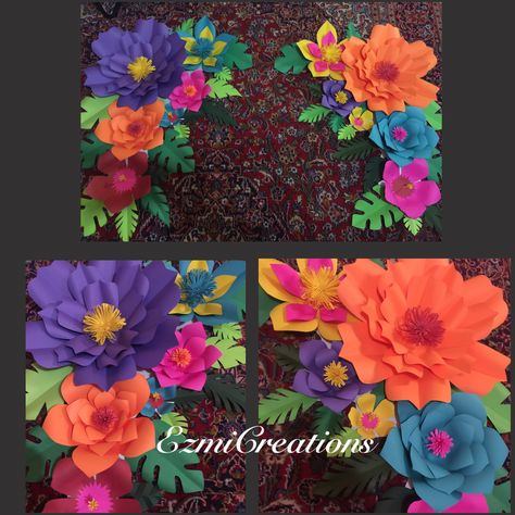 f62bce513 Paper flower tropical DIY kit (please read announcement in ...