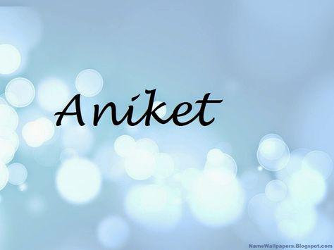 aniket name