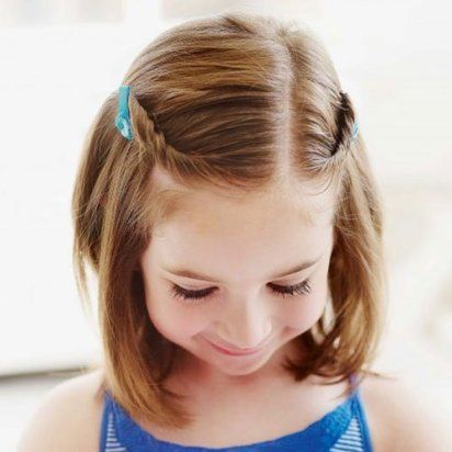 22 Easy And Adorable Toddler Girl Hairstyles For Medium To Long Hair Just Simply Mom In 2020 Cute Little Girl Hairstyles Girls Hairstyles Easy Kids Hairstyles