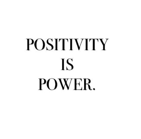 Positivity is power. #hairstylistquotes Positivity is power.