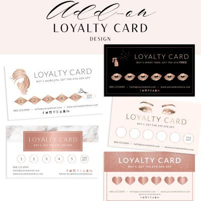 80 Off Macarons And Mimosas Coupon And Promo Codes Loyalty Card Design Beauty Business Cards Loyalty Card