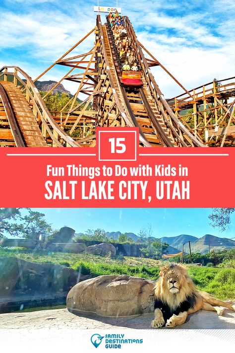 15 Fun Things to Do with Kids in Salt Lake City