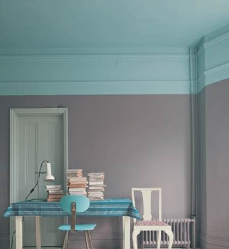 Penitres Vert Du0027eau Et Taupe Farrow And Ball
