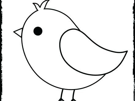 Bird Coloring Pages Baby Bird Coloring Page Pages Cute Free
