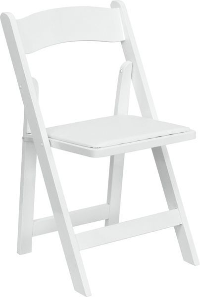 White Resin Chair Folding Chair Wooden Folding Chairs Wood