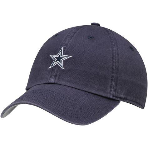 0f3ca39de Men's Dallas Cowboys Nike Navy Washed Logo Adjustable Hat, Your Price:  $27.99