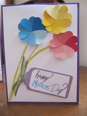 101 Amazing And Easy To Make Mother S Day Craft Ideas For Kids Mothers Day Crafts Mother S Day Diy Cards Handmade
