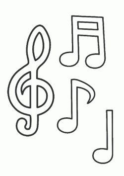 Notalari Boyama Sayfasi Boyama Sayfalari Muzik Calisma