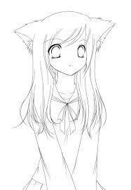 Imagenes De Anime Kawaii Para Colorear Busqueda De Google