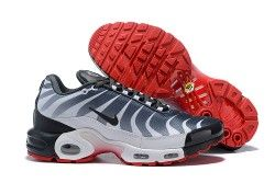 nike air max plus Weiß dark grey speed red