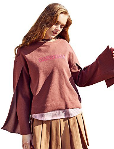 Artka Womens Long Sleeve Sweatshirt Hoodie Solid Hooded T-Shirt with Kangaroo Pocket