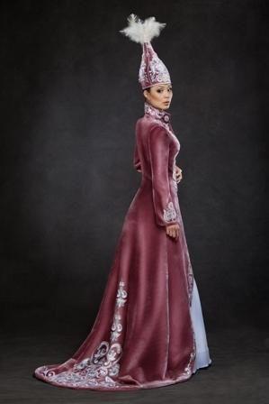 b7458d5373a национальные казахские платья на проводы невесты - Одежда