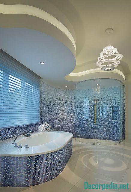 New Bathroom Ceiling Designs And Ideas 2019 Bathroom Decor Bathroom Design Amazing Bathrooms