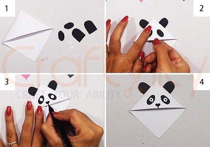 Corner PandaBookmarks