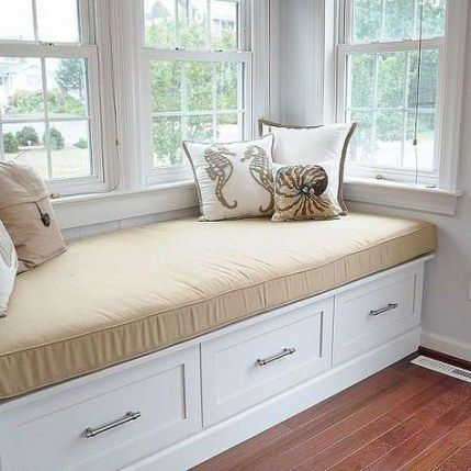 30 Ideas For Kitchen Window Seat Bay Drawers Window Seat